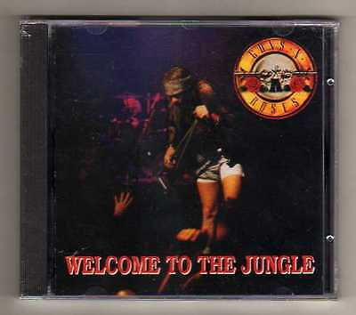 Guns N' Roses - Welcome To The Jungle - Cd Live Con Siae It - Sigillato Mint!!!