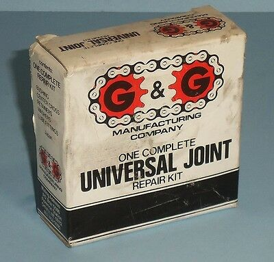 G & G Manufacturing Company 302-0400 Universal Joint Repair Kit, Nib