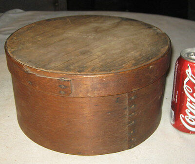 Antique Primitive Folk Art B Ramsdale Hampshire Wood Country Kitchen Pantry Box
