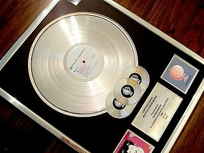 Duran Duran Rio Lp Multi Platinum Disc Record Award Album