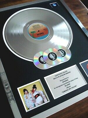 Sparks Kimono My House Lp Multi Platinum Disc Record Award Album
