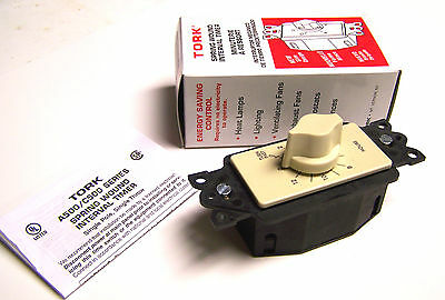 * NIB... Tork Spring Wound Interval Timer Cat# A512H  .. (12hr) 24-277V...ZE-503