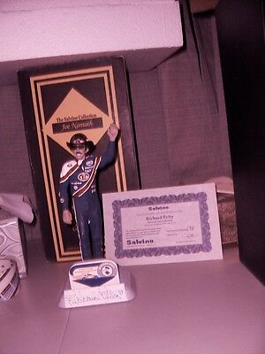 Richard Petty Farwell tour Limited Edition Autographed Salvino Statue