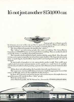 Classic Vintage Advertisement Car Ad J15 1984 Bitter SC Coupe opel