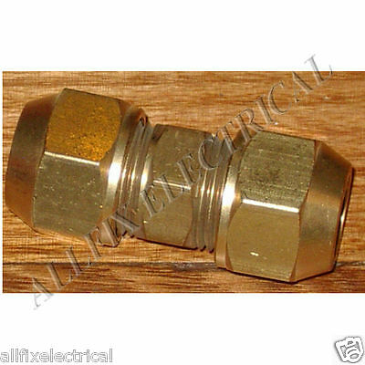 "Brass 5/8"" SAE Flare Union With Flare Nuts - Part # RF424KIT"