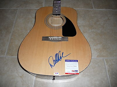 David Allan Coe Body Signed Autographed Fender Acoustic Guitar PSA Certified
