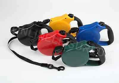 New Retractable 8M Dog Lead Leash 50Kg- Available In 6 Colours