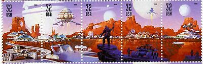 US Scott #3238 Space Discovery Strip of 5 MNH
