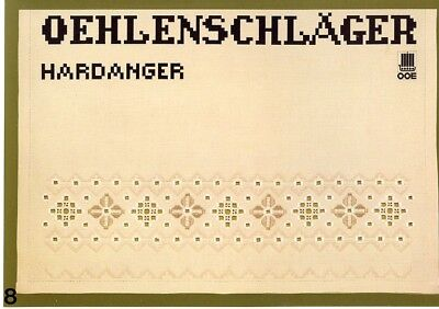 Oehlenschlager Hardanger #8 OOE Pattern Leaflet - 30 Days to Shop & Pay!