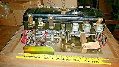 307-1231 225 Amp 3 Phase 110 Volt Coil Onan Transfer Switch Contactor Nos