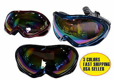 NEW! MEN WOMEN Snowboard Ski Goggles Double Lens 100% UV Protection Motorcycle