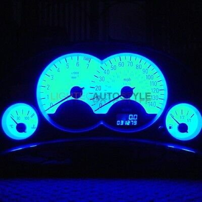 Vauxhall Corsa C Full Led Dash Speedo Clock Mfd Kit With Interior Light