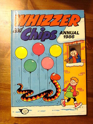 Fleetway Whizzer And Chips Annual 1986 Gc