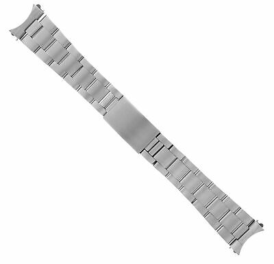 Oyster Watch Band Solid Link Stainless Steel Bracelet For Rolex Watch Matte 20Mm