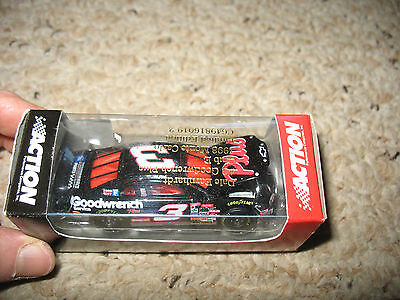 New in Box Action Earnhardt Matchbox Car #3 Goodwrench Plus 1998 Monte Carlo