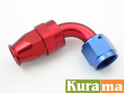 AN -3 AN3 Fittings Adaptor PTFE Teflon Swivel Hose End 90 degree Fuel Adapter