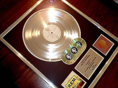 Rem Out Of Time Lp Multi Platinum Disc Record Award Album
