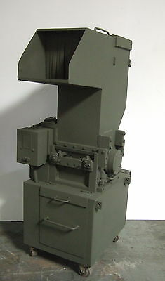 Cumberland Model 10x12 Granulator Plastic Grinder Shredder Recycle Wheels 10 HP