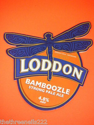 Beer Pump Clip - Loddon Bamboozle Strong Ale