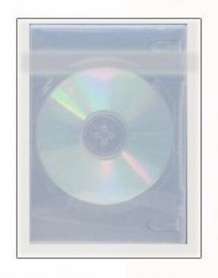2000 OPP Plastic Wrap Bag for Standard DVD Case 14mm