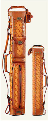 NEW Instroke Saddle 2x4 Tan Leather Case - Model # ISF24-C - FREE US SHIPPING!