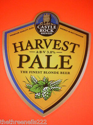 Beer Pump Clip - Castle Rock - Harvest Pale
