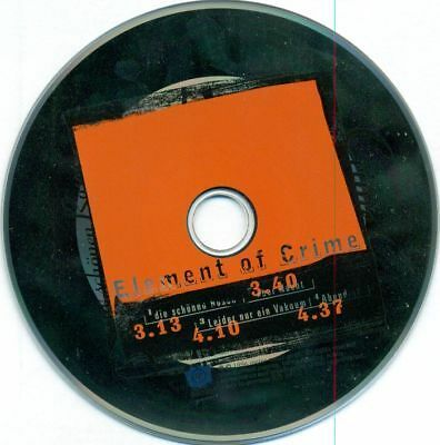 Element Of Crime - Die Schönen Rosen Promo Cd Rar D2272
