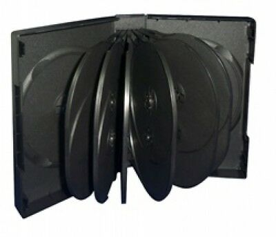 (SAMPLE) - 1 Black 14 Disc DVD Cases