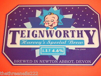 Beer Pump Clip - Teignworthy Harvey's Special Brew