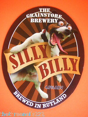 Beer Pump Clip - Silly Billy