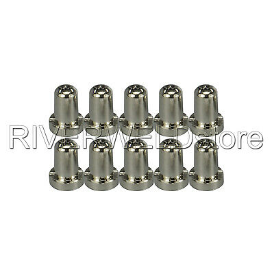 LG-40 PT-31 Plasma Cuter Nozzles Tip Extended Nickel-plated CT-312CUT-50D 50pcs