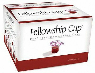 Fellowship Cups - Prefilled Communion Cups - Box of 500 - $89.99 - Free Shipping