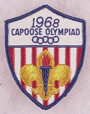 BSA Patch: 1968 Capoose Olympiad