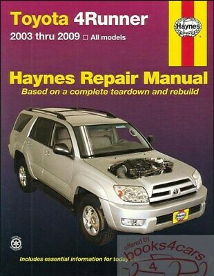 TOYOTA RAV4 SHOP Manual Service Repair Book Haynes ... on
