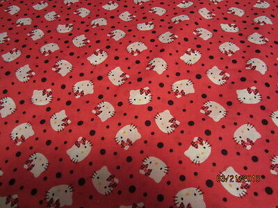 Hello Kitty Baby Toddler sheet set red