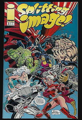 Splitting Image Us Image Comic Vol.1 # 2/'93