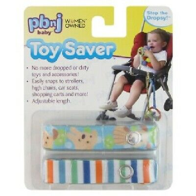 PBnJ Toy Savers Baby toy & sippy cup straps holder for strollers/high chair, etc