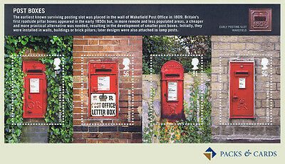 2009 Post Boxes GB Miniature Sheet of Mint Stamps - GB Mini Sheet No. 65