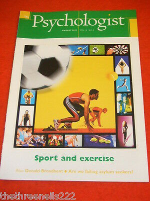 The Psychologist - Sport & Exercise - Aug 2002