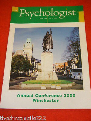 The Psychologist - Annual Conference Winchester - June 2000
