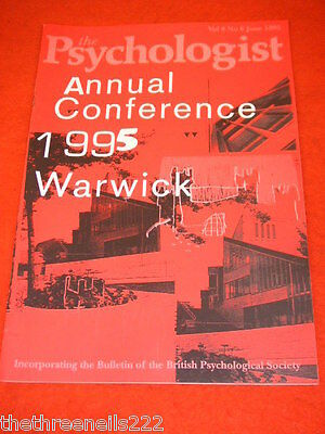 The Psychologist - Annual Conference Warwick - June 1995