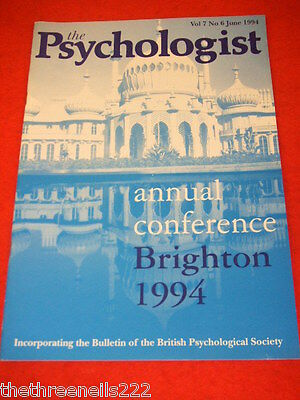 The Psychologist - Annual Conference Brighton - June 1994