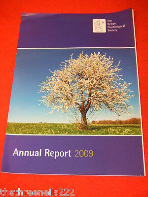 The British Psychological Society Annual Report 2009