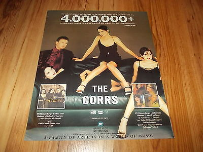 The Corrs-1998 large magazine advert