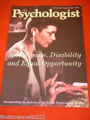The Psychologist - Disability & Equal Opportunity - Sept 1995