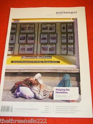 The Psychologist - Helping The Homeless - April 2010