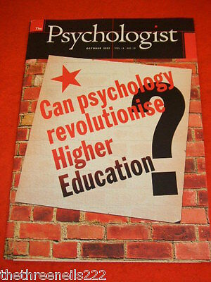 The Psychologist - Higher Education - Oct 2003
