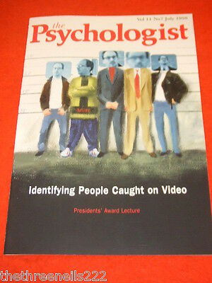 The Psychologist - Identifying People On Video - July 1998