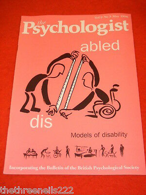 The Psychologist - Models Of Disability - May 1996