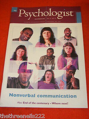 The Psychologist - Nonverbal Communication - Dec 2001